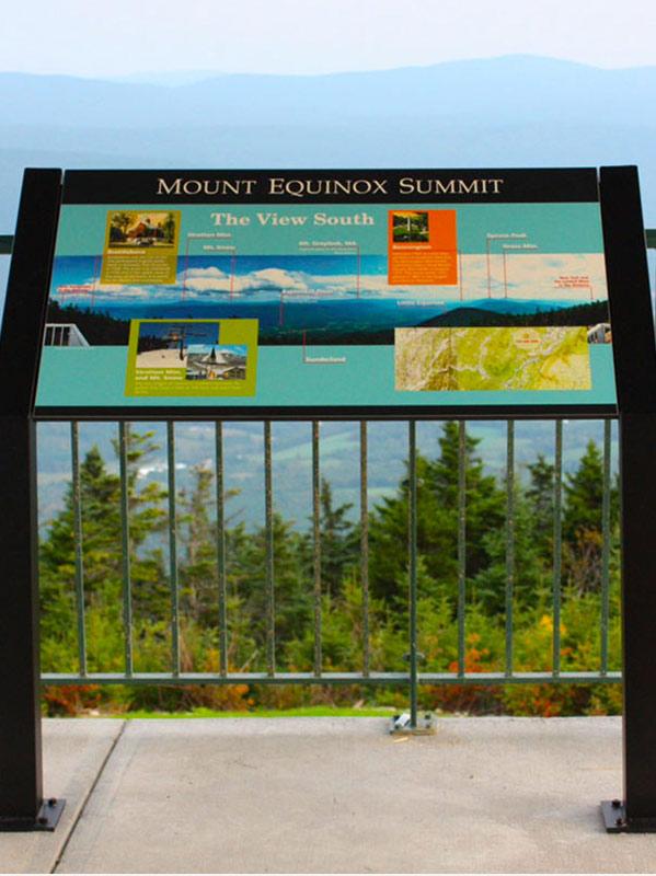 Mount-Equinox-summit-sign