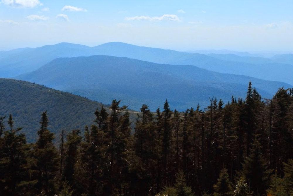 Mount Equinox summit view